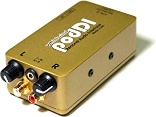Whirlwind PodDI 1-Channel Passive iPod iPhone Direct Box