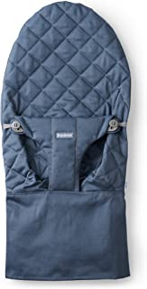 BabyBjorn Fabric Seat for Bouncer, Cotton, Midnight Blue