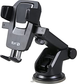 IBRA 360° Car Mount Universal Phone Holder for iPhone X 8/8s 7 7 Plus 6s Plus 6s 6 SE Samsung Galaxy S8 Plus S8 Edge S7 S6 Note 8 5 and Many More Adroid Devices.