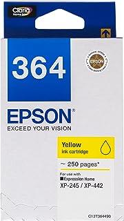 Epson T364 DuraBrite Ultra Ink, Yellow
