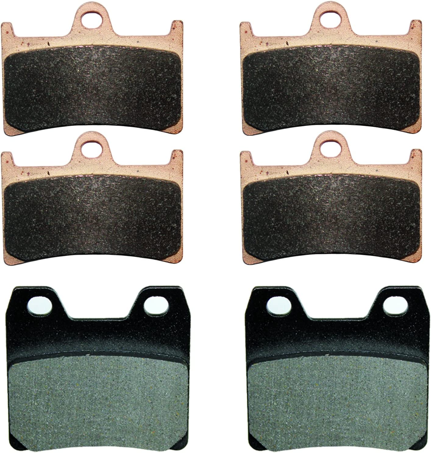 Caltric Sale Special Price Front Rear Brake Pads Yamaha With National products Fz1 Compatible Fzs10