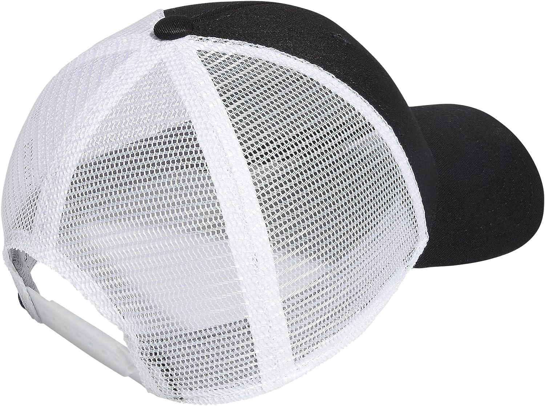 adidas Men's Mesh Back Structured Low Crown Snapback Adjustable Fit Cap