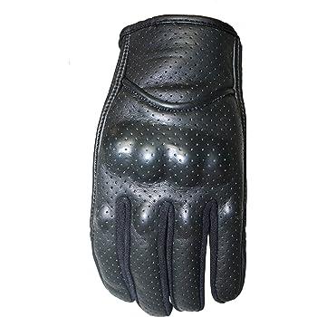 PB Dell Short Cuff Motorcycle Gloves Knox SPS Medium