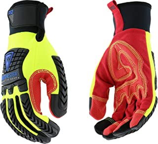 West Chester 87810 Medium | R2 Reinforced Comfort Impact Gloves | Red/Yellow