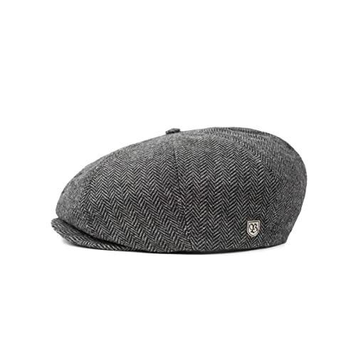 b9f8c3189bcd9 Brixton Men s Brood Newsboy Snap Hat