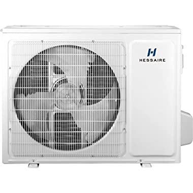 Hessaire 12,000 BTU 1.0-Ton Ductless Mini Split Air Conditioner Only & Heat Pump - 115V Single Zone