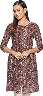 ABOF Women's Cotton Straight Kurta