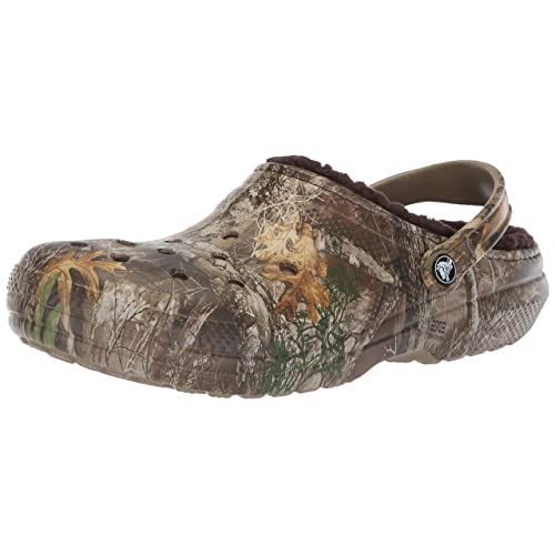 c2f13a864 Crocs Men s and Women s Classic Fuzz Lined Realtree Edge Clog