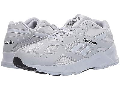 Reebok Lifestyle Aztrek 93 (Grey/White/Reflective) Athletic Shoes