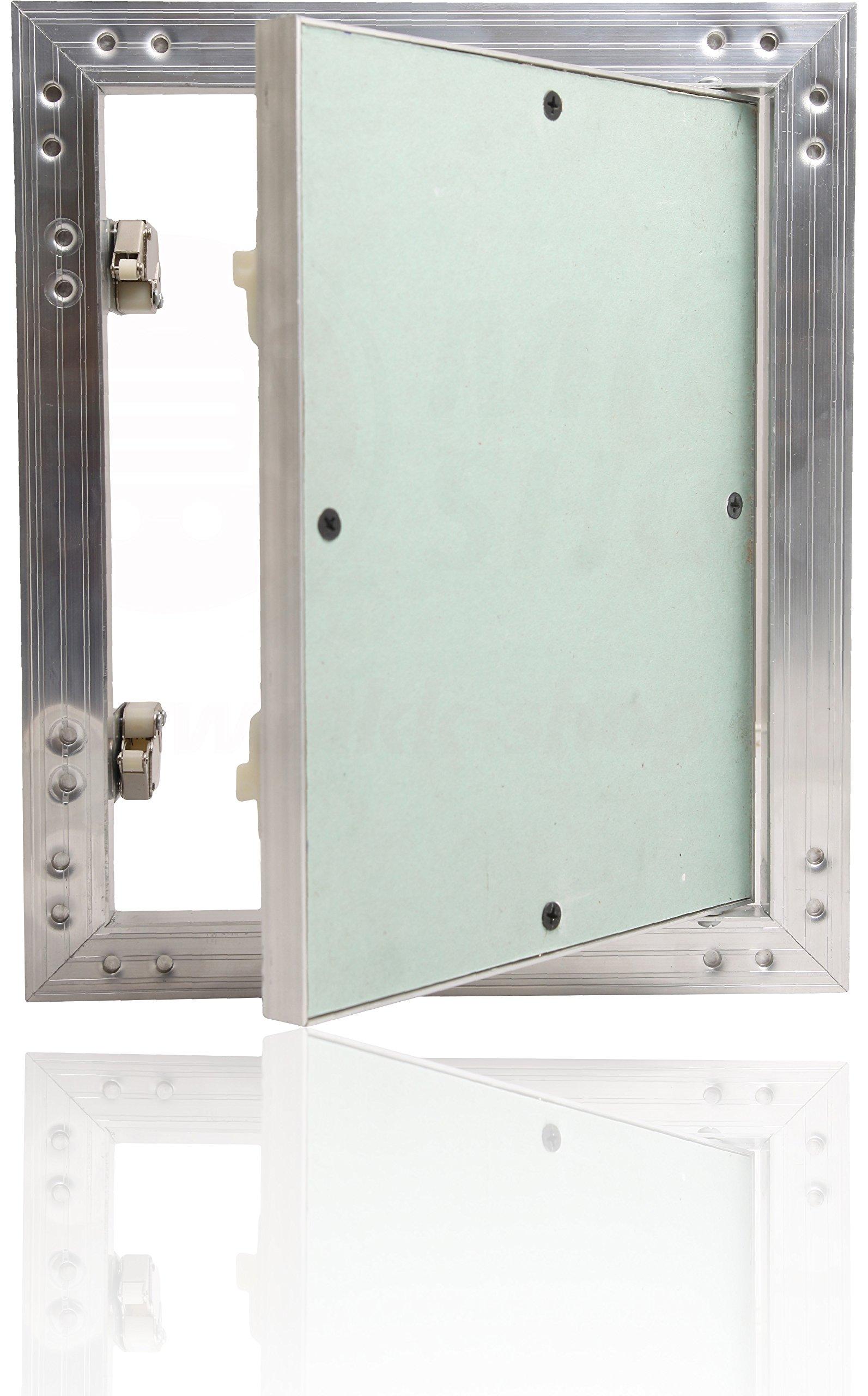 Tapa para revisión GK – Tapa (300 x 800 mm yeso 12,5 mm kral34 pladur Revisión Mantenimiento Puerta 30 x 80 cm Mantenimiento Tapa de limpieza Mantenimiento Apertura con marco de aluminio