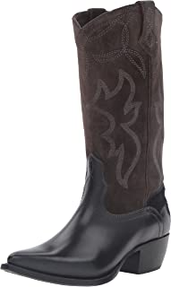 FRYE Women's Shane Embroidered Tall Western Boot