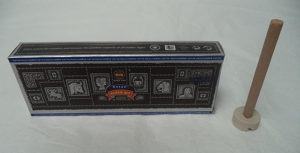 タイマー古い政権SatyaスーパーヒットNag Champa Dhoop Incense Sticks, 2?x 10パック