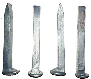 BLUE TINT Railroad Spike Carbon Steel Track Spikes