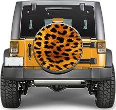 Print Leopard Sticker Full Color Spare Tire Cover Decal, Sticker Wheel Cover gc1615