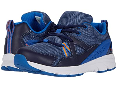 Stride Rite M2P Journey XW-Adaptable (Little Kid) (Navy) Boys Shoes