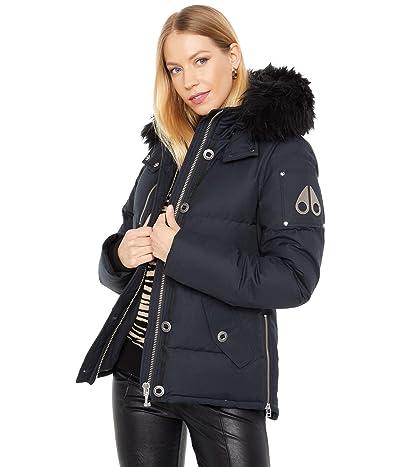 Moose Knuckles 3Q Shearling Jacket (Navy) Women
