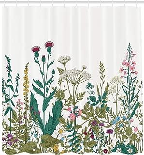 La fleur de la libert/é ancho: 160 cm Tela de algod/ón estampada * 100/% algod/ón suave flores grises y azules sobre un fondo blanco tela floral por metro lineal