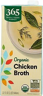 365 Everyday Value, Organic Chicken Broth, 32 fl oz
