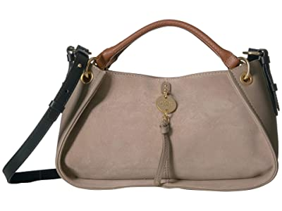 See by Chloe Luce Suede Tote (Motty Grey) Handbags