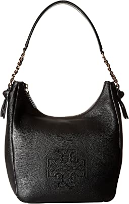a5acaef7b33 Black. 105. Tory Burch. Harper Zip Hobo