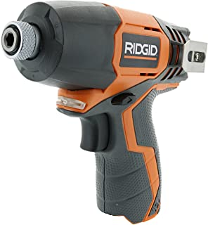 Ridgid R82230N 1/4 Inch 12 Volt Lithium Ion 1,100 In. Lbs. Impact Driver (Battery Not Included, Power Tool Only)