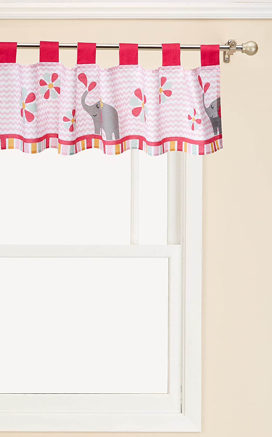 Max NEW before selling ☆ 48% OFF Bedtime Originals Window Valance Sweeties Jungle
