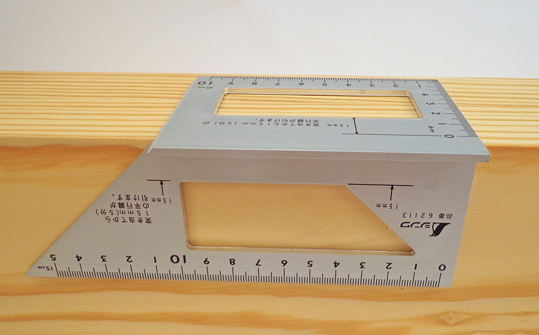 5 ☆ very popular Shinwa Japanese Aluminum Saddle Layout Square degree 9 w Courier shipping free 45 and