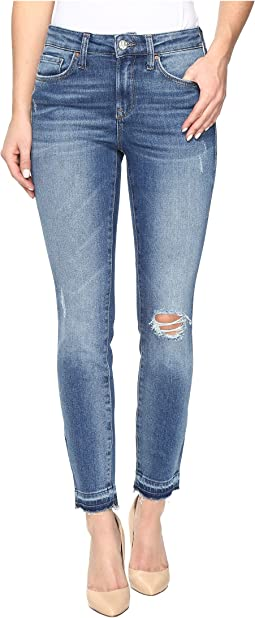 Alissa Ankle High-Rise Skinny Ankle in Dark Indigo 90s