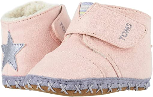 Pink Microsuede/Star Applique
