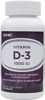 GNC Vitamin D-3 1000IU, 180 Count