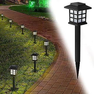 Landscape Lighting, 12 Pack Solar Pathway Lights Outdoor Garden, Waterproof Patio Lights for Yard, Walkway, Driveway, Law...