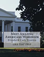Meet Amazing Americans Workbook: Elizabeth Cady Stanton
