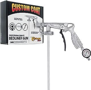 Custom Coat Professional Quality Bedliner Application Gun with Regulator - Fits 1 Liter U-POL Raptor or Custom Coat Bed Li...