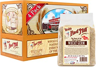 Bob's Red Mill Wheat Germ, 32 Oz (4 Pack)