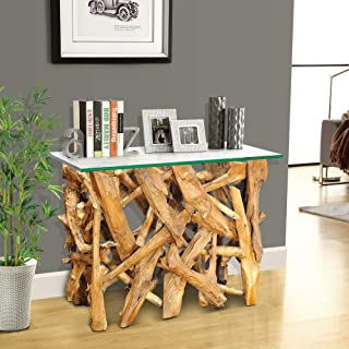 Casual Elements Teak Root Console Table 39.5