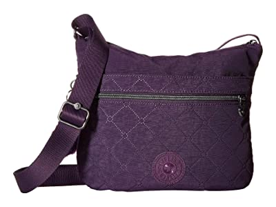 Kipling Arto Crossbody (Deep Purple) Cross Body Handbags