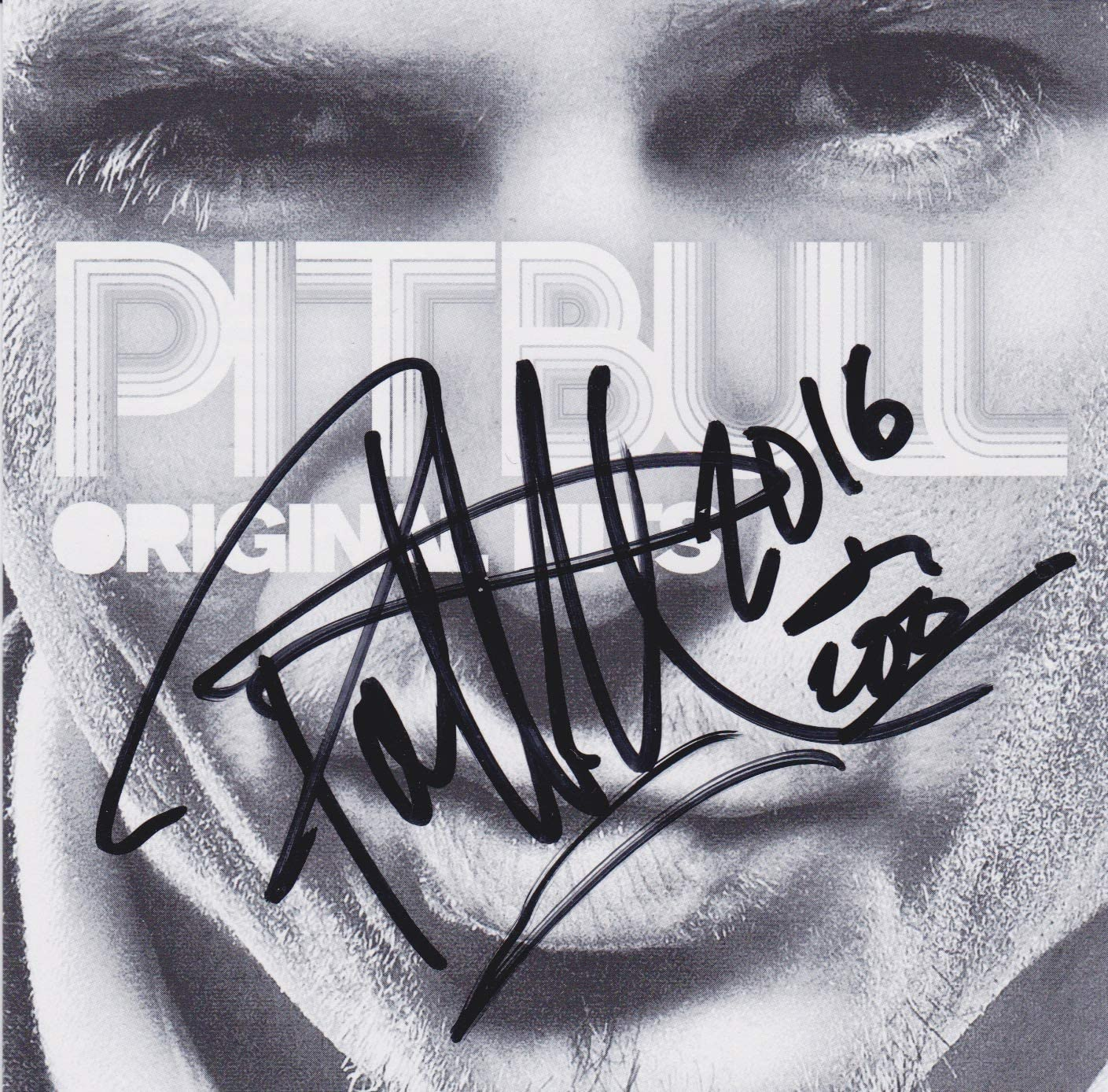 Pitbull signed Ranking TOP2 Fort Worth Mall CD