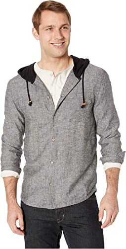 Mancos Long Sleeve Button Up Hoodie