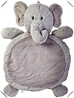 Tmrow Grey Elephant Baby Mat Animal Children Play Mat Photography Baby Nap Mats Belly Blanket Toddler Crawl Playmat Elephant 31 x 23-inches