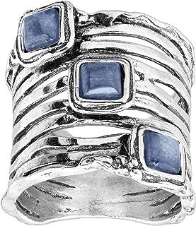Set Sail' Natural Kyanite Ring in Sterling Silver