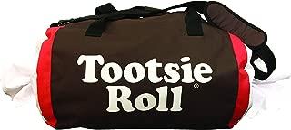 "Tootsie Roll Candy Fun Duffle Overnighter & Weekender Duffel Bag, 15.5"" x 13"" x 7"", Girls Boys Adult"