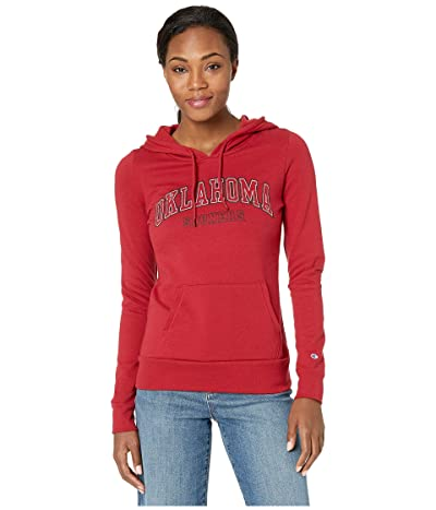 Champion College Oklahoma Sooners Eco University Fleece Hoodie (Cardinal 3) Women