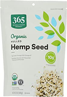 365 by Whole Foods Market, Organic Seeds, Hulled Hemp, 12 Ounce