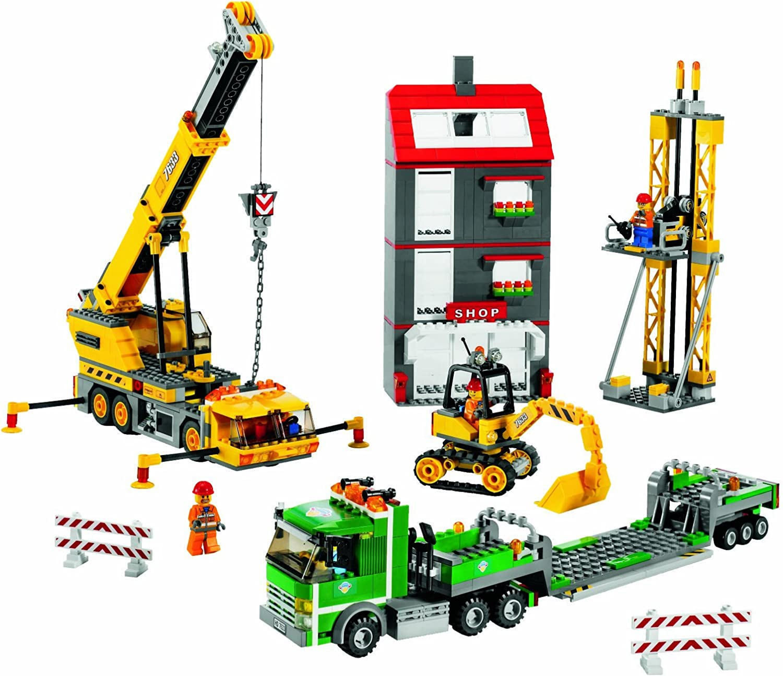 marca LEGO City City City 7633 Lugar de Obras  genuina alta calidad