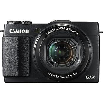 Canon PowerShot G1 X Mark II Digital Camera - Wi-Fi Enabled