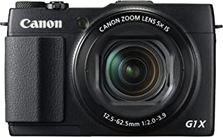 Canon PowerShot G1 X Mark II 12.8Digital Camera with 3.0-Inch TFT LCD