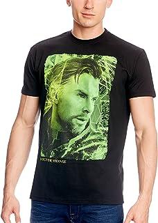 c84cb6c61f7 Doctor Extraño Camiseta del Héroe Stephen Strange de Elbenwald Negro
