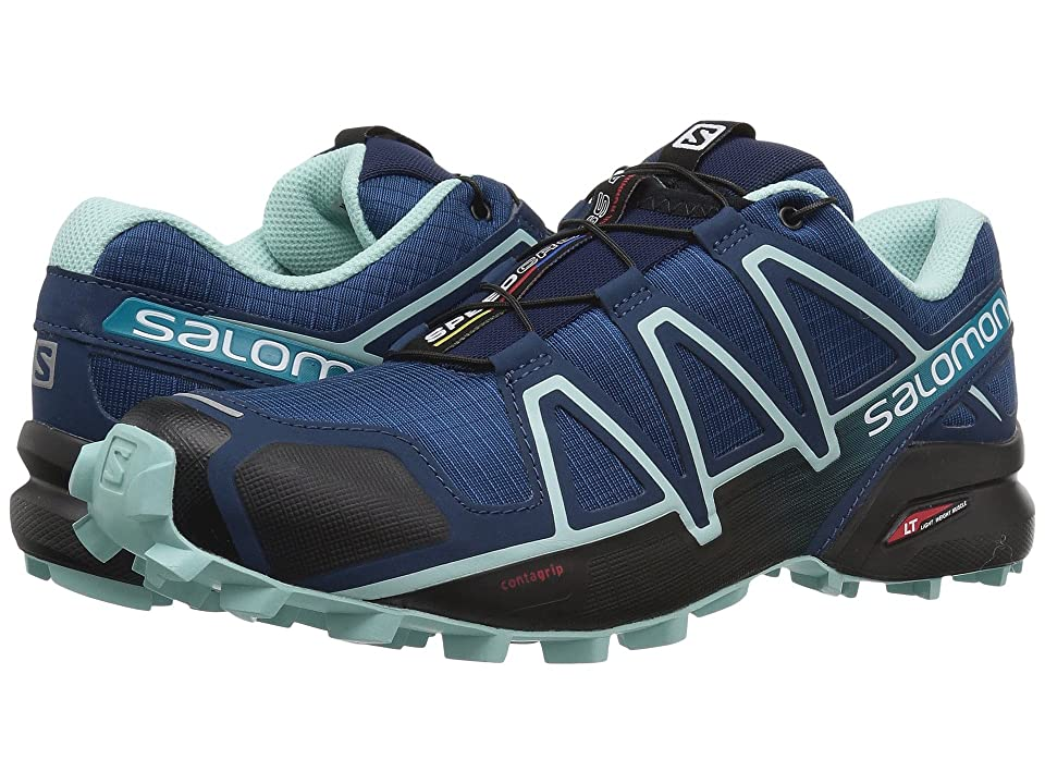 Salomon Speedcross 4 (Poseidon/Eggshell Blue/Black) Women's Shoes