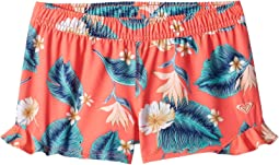 Fiery Coral New Tropical Love Swim