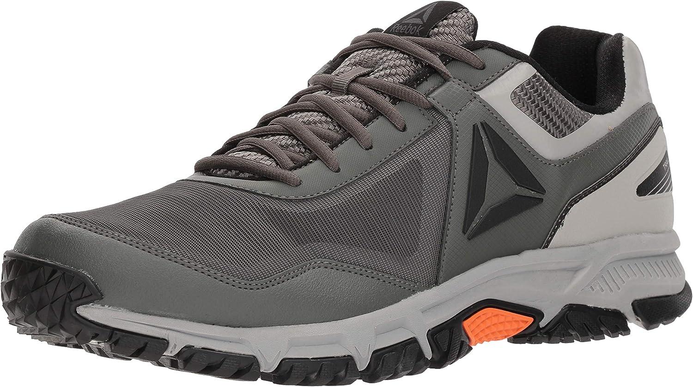 Reebok Hommes's Ridgerider Trail 3.0 en marchant chaussures, noir Primal rouge, 7.5 M US